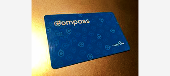 Adult Compass Card(青色)