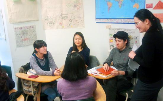 SGIC Vancouver-Classroom