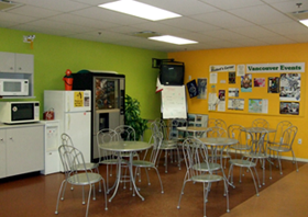 Vanwest Vancouver-Cafeteria