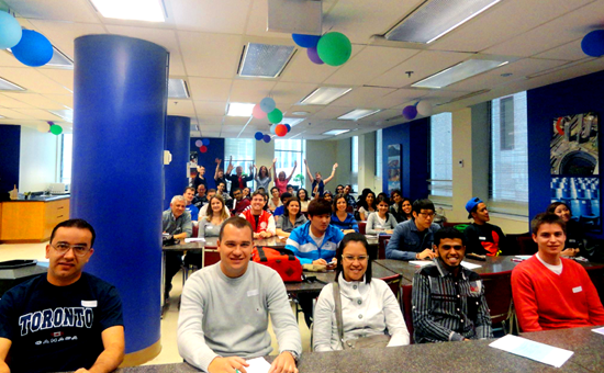 PLI Toronto-Classroom