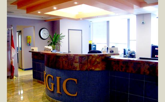 KGIC Toronto-front desk